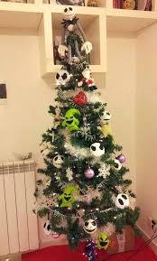 Christmas Tree Theme Decorations Diy Nightmare Before Christmas Ornaments U2013 Mobiledave Me