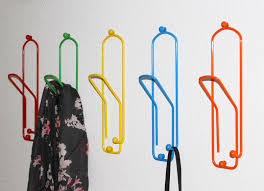 design kleiderhaken kleiderhaken büroklammer set 5 stk wandgarderobe 32cm garderobe