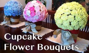 cupcake flowers cupcake flower bouquets