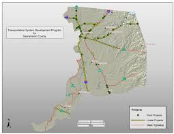 Sacramento Light Rail Map Sacramento County Tsdp Map And Data