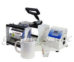 Heated Coffee Mug by 2 In 1 Mug Heat Press Sublimation Transfer Shot Glass Coffee Mug