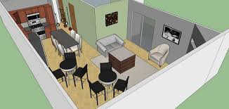 sxsw office layout sketchup model u2014 evstudio architect engineer