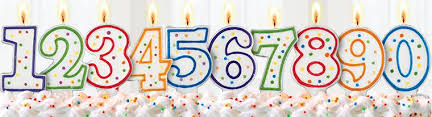 number birthday candles easy picture of birthday candles party city free clipart