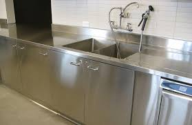 Commercial Kitchen Counters Stainless Steel Stainless Steel