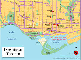 Toronto Subway Map Toronto Subway Map With Attractions Image Gallery Hcpr