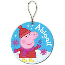personalized ornament peppa pig walmart