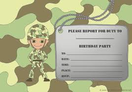 camo birthday invitations templates ideas u2014 all invitations ideas