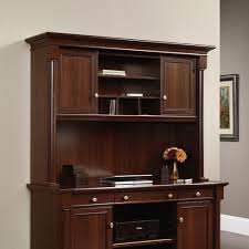 Computer Desk With Hutch Cherry Palladia Hutch 412308 Sauder