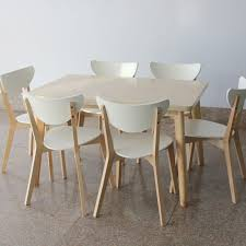 Birch Dining Table And Chairs Image Result For Ikea Thailand Stacking Chair Loosefur Stacking