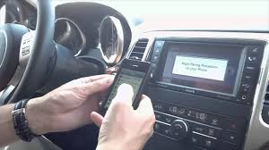 how to connect phone to jeep grand how to setup bluetooth with uconnect by mike mcmanes