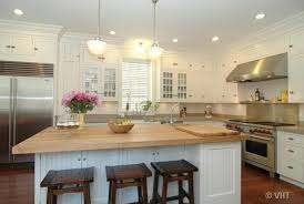white kitchen island with butcher block top navy kitchen island with wood top design ideas