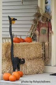 Fall Hay Decorations - hay bale fall decorating ideas fun fall decorating ideas for your