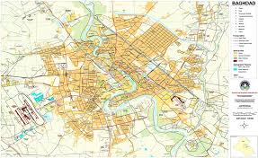 baghdad on a map map of baghdad iraqpictures org