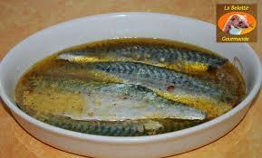 cuisiner des filets de maquereaux maquereau mariné au citron la belette gourmande