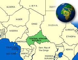 Map Of Africa With Country Names Central African Republic Facts Culture Recipes Language