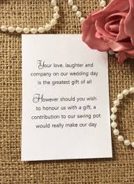 wedding gift money ideas wedding invitation no gifts just money paperinvite