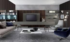Contemporary Tv Table Contemporary Tv Wall Unit Wooden Aluminum By Mauro Lipparini