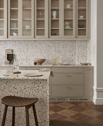 glass kitchen cabinet doors only frame kitchen terrazzo nordiska kök