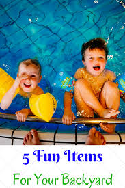 5 family fun items to have in your backyard
