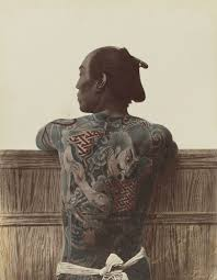 japanese tattoo by kimbei or stillfried irezumi wikipedia the