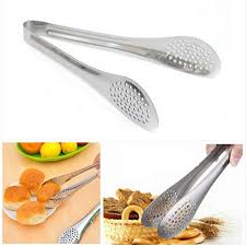 aliexpress com buy stainless steel food tongs bbq kitchen
