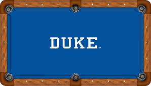 Academy Pool Table by Duke Blue Devils 7 U0027 Pool Table Felt Pool Table Cloth Billiard Felt
