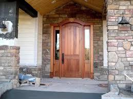 Wooden French Doors Exterior by Rustic Front Doors Boleh Win