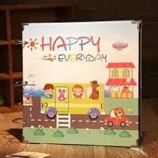 kids photo albums pink memory 1pc diy photo picture album 7 ring binder baby kids