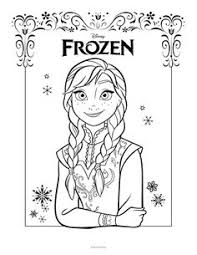 50 frozen coloring pages free printable kids frozen bday