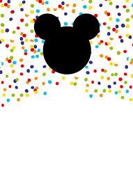 mickey mouse free printable invitation templates