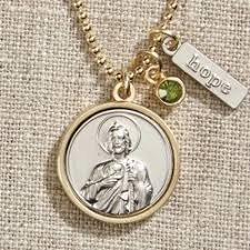 st jude gifts st jude necklace with swarovski shop monastery products