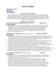 Sample Resume For Microbiologist Sample Resume Microbiology Lecturer Administrative Assistant