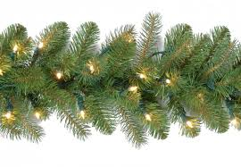Outdoor Garland With Lights by Decorating Pre Lit Garland Greenery Wreath Led Garland Lights