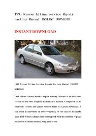28 1995 nissan altima repair manual 41123 1995 nissan