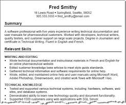 skills on resume example resumes skills template sample one of