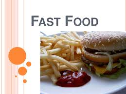 Fast Food Power Point Fast Food Ppt