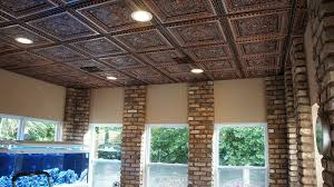 Tin Ceiling Lights Faux Tin Ceiling Tiles For 99 Cent Per Panel Modern Ceiling