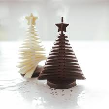 chocolate tree 3d christmas tree chocolate mould unique home