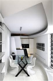minimalist apartment dining room dining room