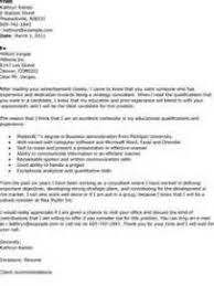 cover letter for a consulting firm ead cover letter gallery cover
