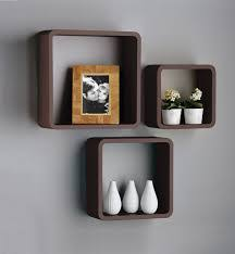 Hanging Floating Shelves by Wall Shelves Design Hanging Shelves Without Putting Hole In The