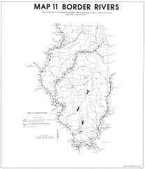 Illinois State Map 7 Day 10 Year Low Flow Maps Illinois State Water Survey