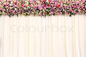 wedding anniversary backdrop wedding backdrop stock photo colourbox