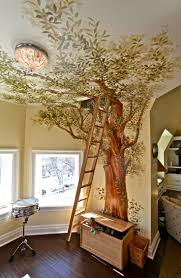 Bathroom Mural Ideas by Best 25 Playroom Mural Ideas On Pinterest Basement Kids
