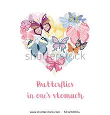 butterflies in the stomach stock images royalty free images