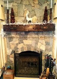 rustic fireplace hand hewn mantel virginia
