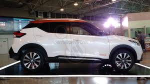 nissan kicks 2016 nissan kicks rio side special edition showcased indian autos blog