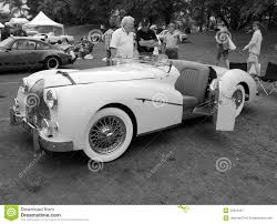 vintage cars 1950s classic 1950s british sporst car editorial photography image