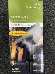Malibu Flood Light Kit by Intermatic 10w Malibu Low Voltage Black Cast Metal Halogen