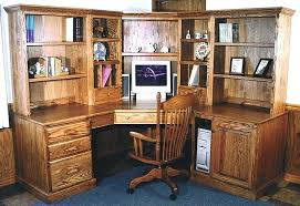 Desk With Computer Storage Corner Wood Desk Corner Wood Desk Computer Wooden Solid 4 With